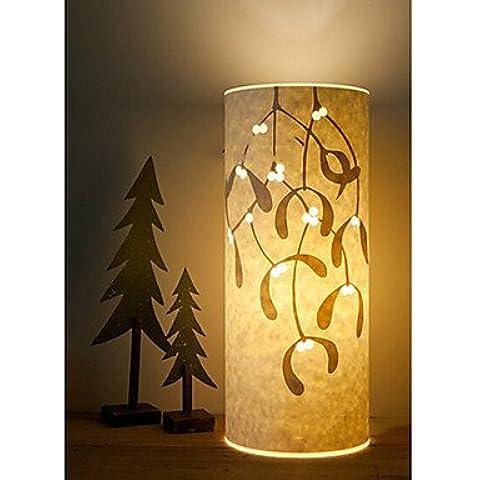 Bang lámpara de pie 1 luz patrón de la hoja de pergamino pantalla retro