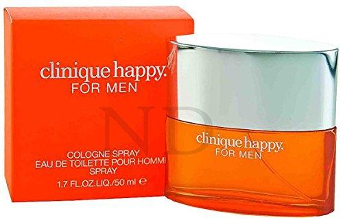 Clinique Happy pour homme 50 ml Cologne Vaporisateur avec sac cadeau