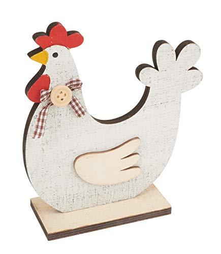 g 16 cm hoch Ostern Huhn Dekoration ()