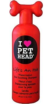 Pet Head Chien Shampooing Apaisant pour la Peau Life's an Itch Parfum Melon d'Eau 475 ml