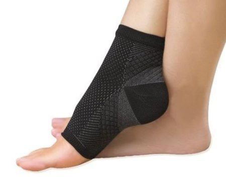 Set of 2 Foot Angel Anti Fatigue Compression Foot Sleeve As Seen On TV (Large/Extra Large) by AOLIKES