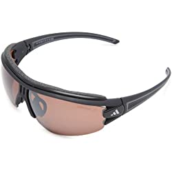 Adidas Eyewear Evil Eye Halfrim Pro L Polarized, Farbe matt black