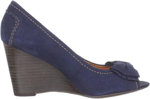 Geox Donna Siria Zep.spu D22P2D000DPC4002, Scarpe col tacco donna Blu (Blau (navy C4002))