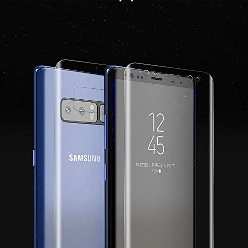 Samsung Galaxy Note 8 Bildschirm Schutzfolie (Nicht Panzerglas),ONICO 3D Selbstheilung Schutzfolie Kompatibel mit Hülle Vollständige Abdeckung (Vorne und Hinten)