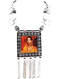 Oxidised German Silver/fashion/Antique/new Design Jewellery PADMAVATI Necklace Set For Women And Girls - B0789LKVJ6