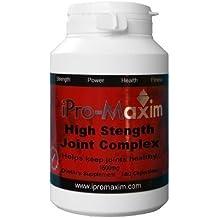 iPro-Maxim Power - Complejo para alto nivel de fuerza en articulaciones, 180 cápsulas x 1500mg por cápsula. Sulfato de glucosamina 2KCl, apto para problemas ...