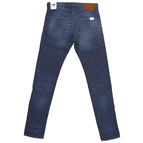 Replay, Herren Jeans Hose, Anbass Slim,Denim,blue denim rinse [18398] blue denim rinse