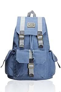 F Gear Equalizer 20 Ltrs Blue Canvas Backpack