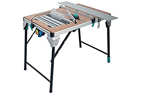 Wolfcraft 6900506 Master Cut 2000 - precision saw table and work station, usable as table saw, hand-held circular saw, jigsaw table, router table, work