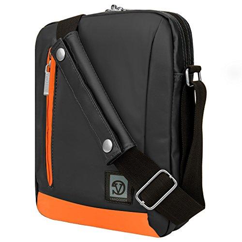 Ice Fishing-elektronik (Umhängetasche Messenger Tasche für ASUS Transformer Book/Mini/Chromebook 25,4cm Tablets orange Orange 10 Zoll (25,4 cm))