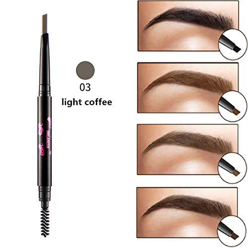 Makeup-Ruwhere di precisione impermeabile sopracciglia doppio chiuso con sopracciglio matita con pennelli strumenti (3)