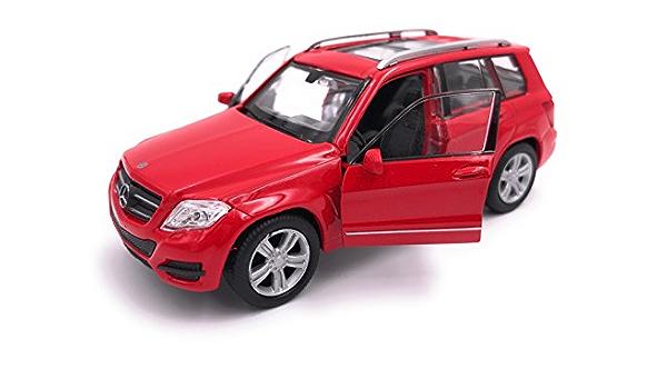 H Customs Mercedes Benz Glk Modellauto Auto Lizenzprodukt 1 34 1 39 Rot Auto