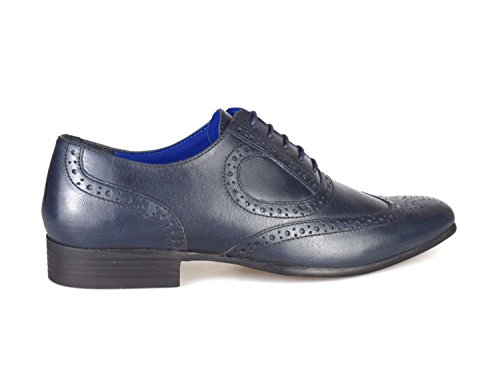 Red Tape Carlow Navy Blue Men's Leather Brogue Shoes