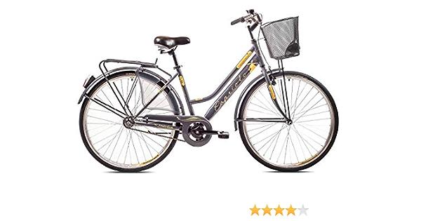 breluxx/® 28 Zoll Damenfahrrad Amsterdam Retro Bike Modell 2020 Citybike mit Korb Nexus 3 Gang Nabenschaltung Beleuchtung R/ücktrittbremse rot