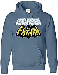 Dinner FatMan A Capuche Pour Hommes Droles Sweat-Shirt
