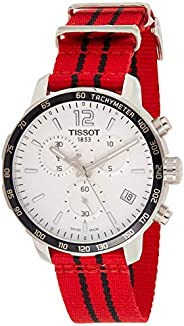 Tissot Mens Quartz Watch, Analog Display and Textile Strap T095.417.17.2082.46