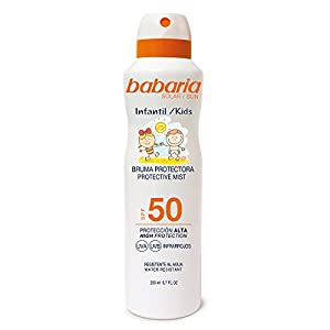 Babaria Bruma Protector Solar Infantil SPF50-200 ml