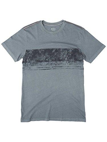 Herren T-Shirt RVCA Ptc Dye Band T-Shirt Blue Slate
