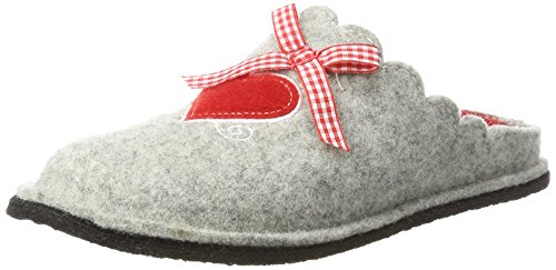 Supersoft Damen 522 226 Pantoffeln, Grau (Grey), 38 EU