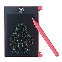 ACAMPTAR 4.4-inch LCD EWriter Paperless Memo Pad Tablet Writing Drawing Board Pink