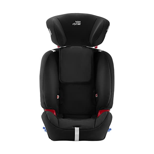 Britax Römer MULTI-TECH III Car Seat (9 Months-6 Years|9-25 kg), Cosmos Black  Advanced side impact protection - the SICT feature offers superior protection to your child in the event of a side collision Extended rearward facing - rearward facing car seats offer the best protection in the event of a frontal collision - the most frequent type of accident on the roads Deep, protective side wings - the soft, padded side wings act as a protective cocoon that helps to absorb the force from a side impact, reducing the risk of injuries to your child 7