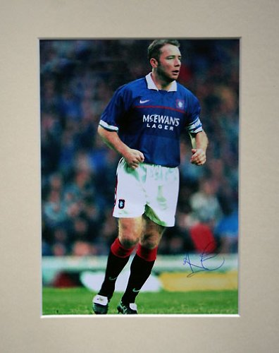 ALLY-McCOIST-RANGERS-SIGNED-AUTOGRAPH-PHOTO-PRINT-IN-MOUNT