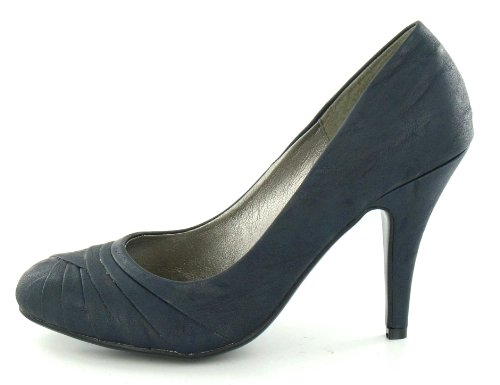 Spot On , Damen Pumps Dunkelblau