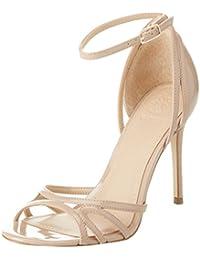 GUESS Footwear Dress Sandal, Zapatos con Tacon y Correa de Tobillo Para Mujer