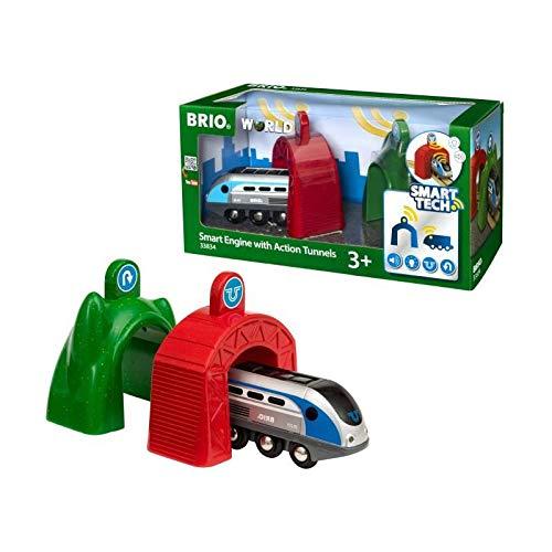 Brio Smart Tech Zug mit Actionportalen 33834 (Tech-zug)