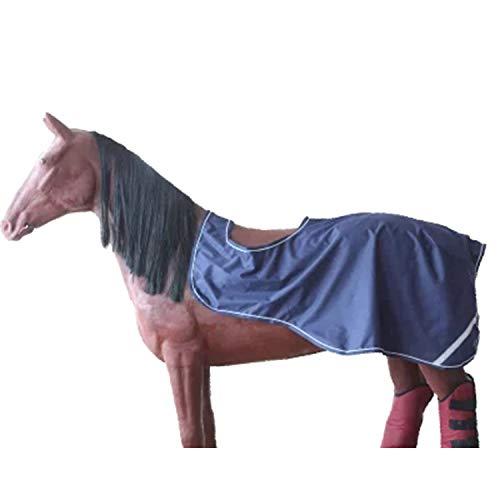 LOVEPET Pferdesport Pferdedecke Frühling Und Herbst Horse Carpet Wettbewerb Training Wasserdicht Atmungsaktiv Fleece Futter Blau