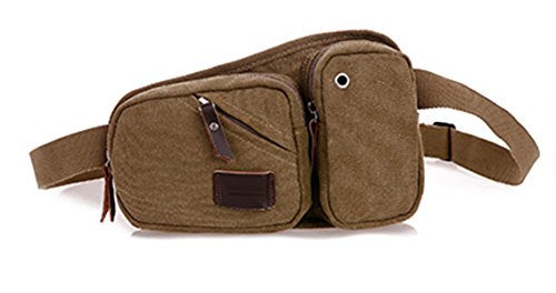 Männer Multifunktionale Outdoor-Sporttasche Brust Multicolor lightbrown
