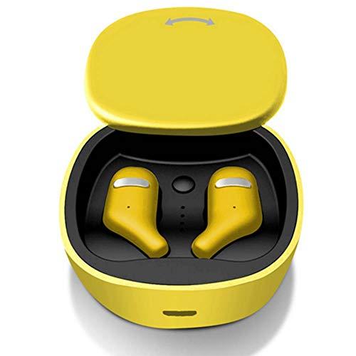 GUAN Wireless Earplug Running Biaural Mini Headset Universal 5.0 Bluetooth Headset (Free Running Pc)