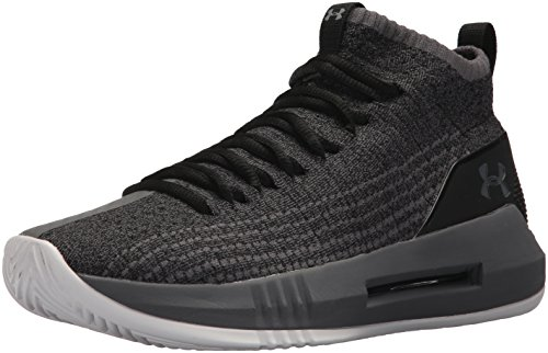Under Armour UA Heat Seeker, Scarpe da Basket Uomo, Nero (Black 004), 42.5 EU