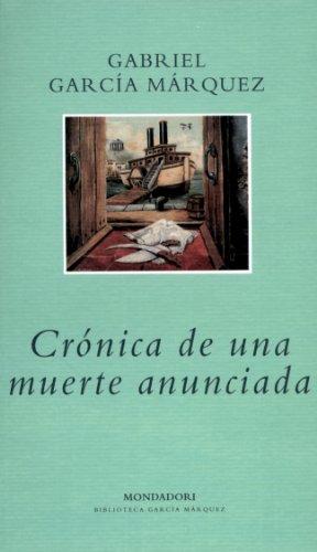 Crónica de una muerte anunciada (biblioteca garcia marquez)