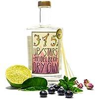 315 UPSTAIRS HEIDELBERG DRY GIN   (1 x 0,5 Liter)   preisgekrönt   perfekt als Geschenk   einzigartiger Geschmack