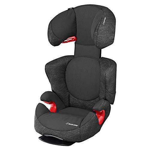 Maxi-Cosi Rodi AirProtect, höhenverstellbarer Kindersitz mit komfortabler Ruheposition, Gruppe 2/3 (15-36 kg), nutzbar 3,5 bis 12 Jahren, nomad black