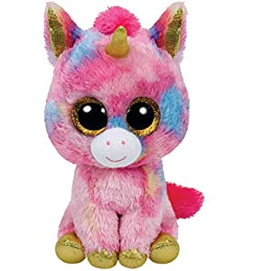 TY - Fantasía, peluche unicornio,