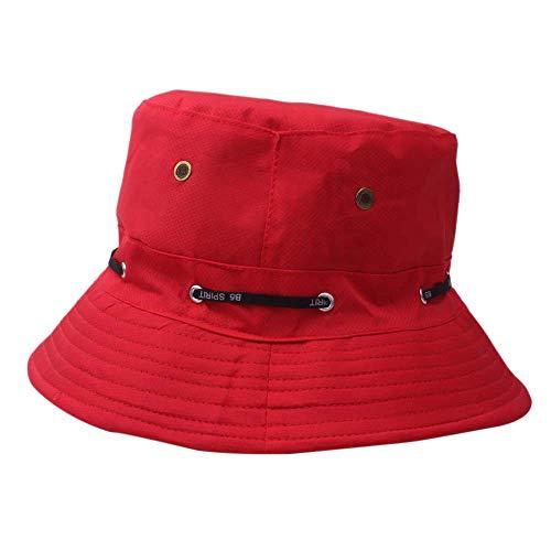 Zottom Erwachsene männer und Frauen Cap Mode Cap Outdoor Sonnenhut Reise lässig Topf Eimer Hut (Ash Ketchum Kostüm Original)