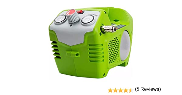 40 V Air Compressor Green Art//No: 4100802 Green Works G40AC