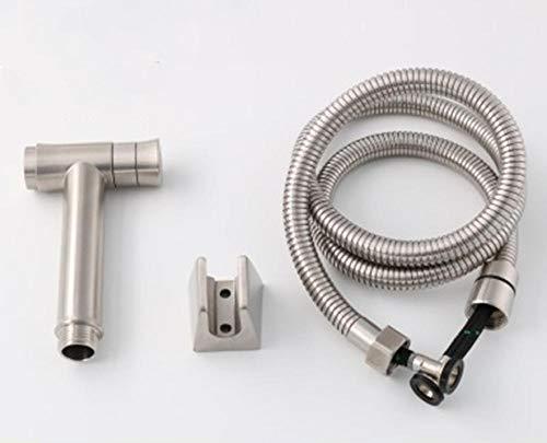 Edelstahl tragbares SPRAY Kit-Bidet-Drucksprühgerät aus Edelstahl 304 ohne Bidet-Set 1,5 m-B
