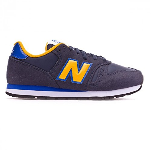 Zapatilla jr KJ373 Navy-Yellow Talla 3 USA