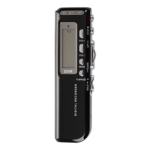 TOOGOO(R)8G Grabadora Voz Digital Voice Recorder MP3 Dictafono