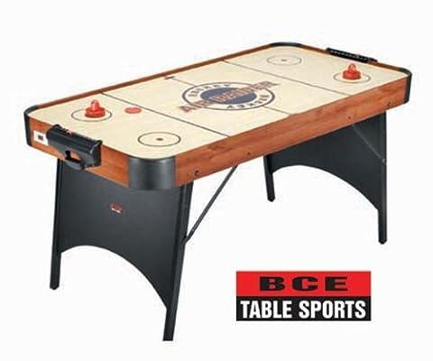 BCE Men's Air Raider Hockey Table, Wood Effect, 5-inch