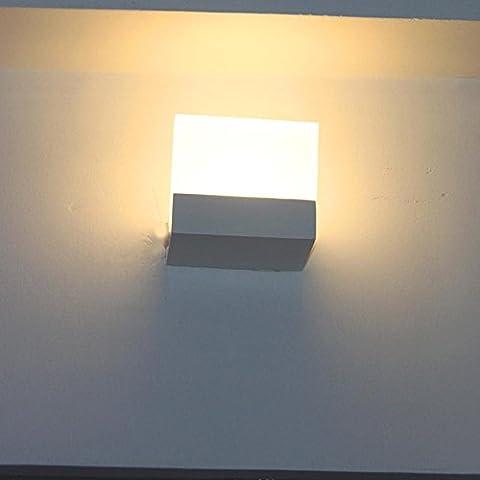YONG LED Creative Simple Escalier Aisle Wall Lamp , warm white light