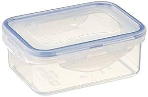 Lock & Lock HPL806 Lot de 6 boîtes de conservation alimentaires rectangulaires 350ml.