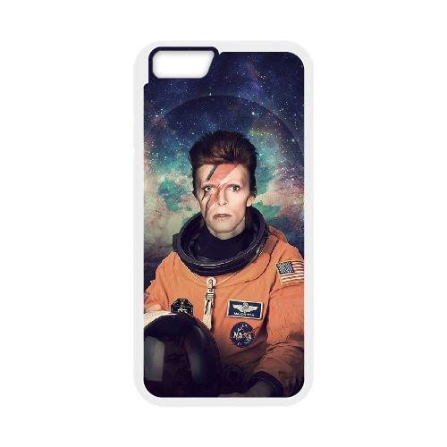 David Bowie coque iPhone 6 4.7 Inch Housse Blanc téléphone portable couverture de cas coque EBDXJKNBO13572