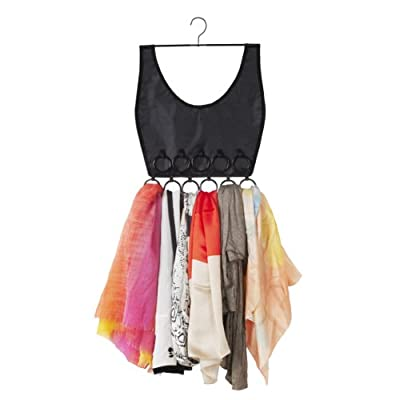 Umbra Boho Dress Scarf Organiser, Black - inexpensive UK light store.