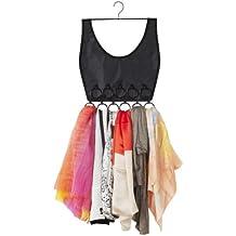 Umbra 294016-040 Boho Dress Schalaufbewahrer, Schalhalter, Organizer, schwarz