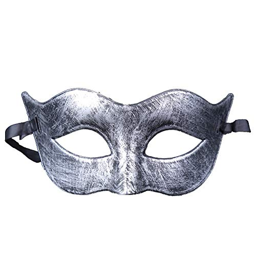 Fansi Damen Herren Kind Retro Maske Venezianische Maskerade Masquerade Venedig Karneval Partei Maske Halloween Jungen und Mädchen Maske