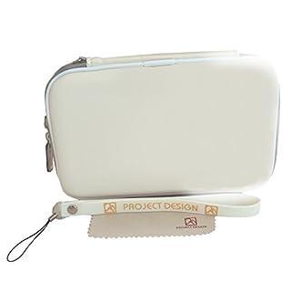 Tasche, Case für den Nintendo 3DS XL, DSi XL, New Nintendo 3DS, 3DS & DSi in Weiß